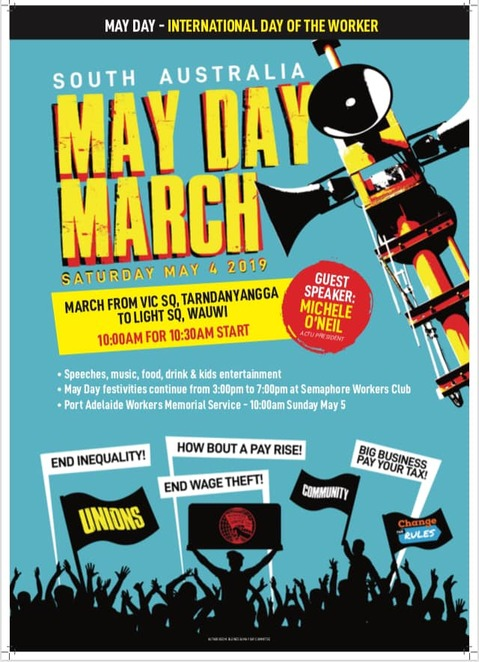 2019 May Day March