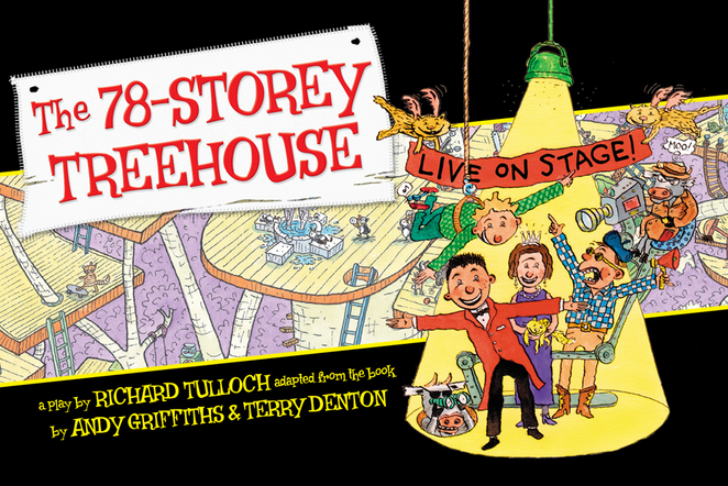78 Storey Treehouse Andy Griffiths Terry Denton State Theatre WA Things to do Kids School Holidays Perth