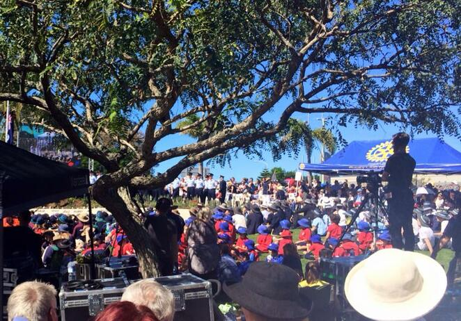 ANZAC Day services have traditionally drawn members across each community