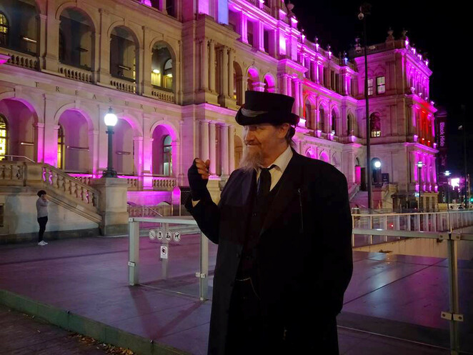 Take the kids on a ghost tour so that they can learn more about Brisbane history