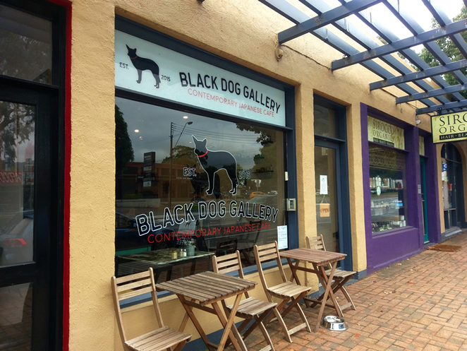 Black Dog Gallery Japanese Food Cafe Tusmore Fusion Rice Ramen Matcha Green Tea Coffee Japan Nippon Cuisine Delicious