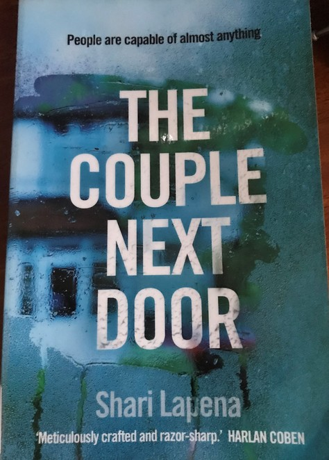 books, authors, literary, weekend reads, put your feet up, the couple next door, shari lapena, book review