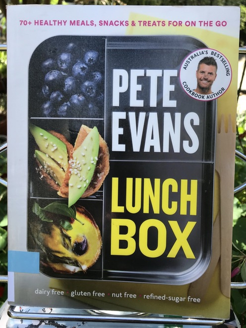 Books, book reviews, Pete Evans, lunch box, new year, hobbies, projects, food, foodie