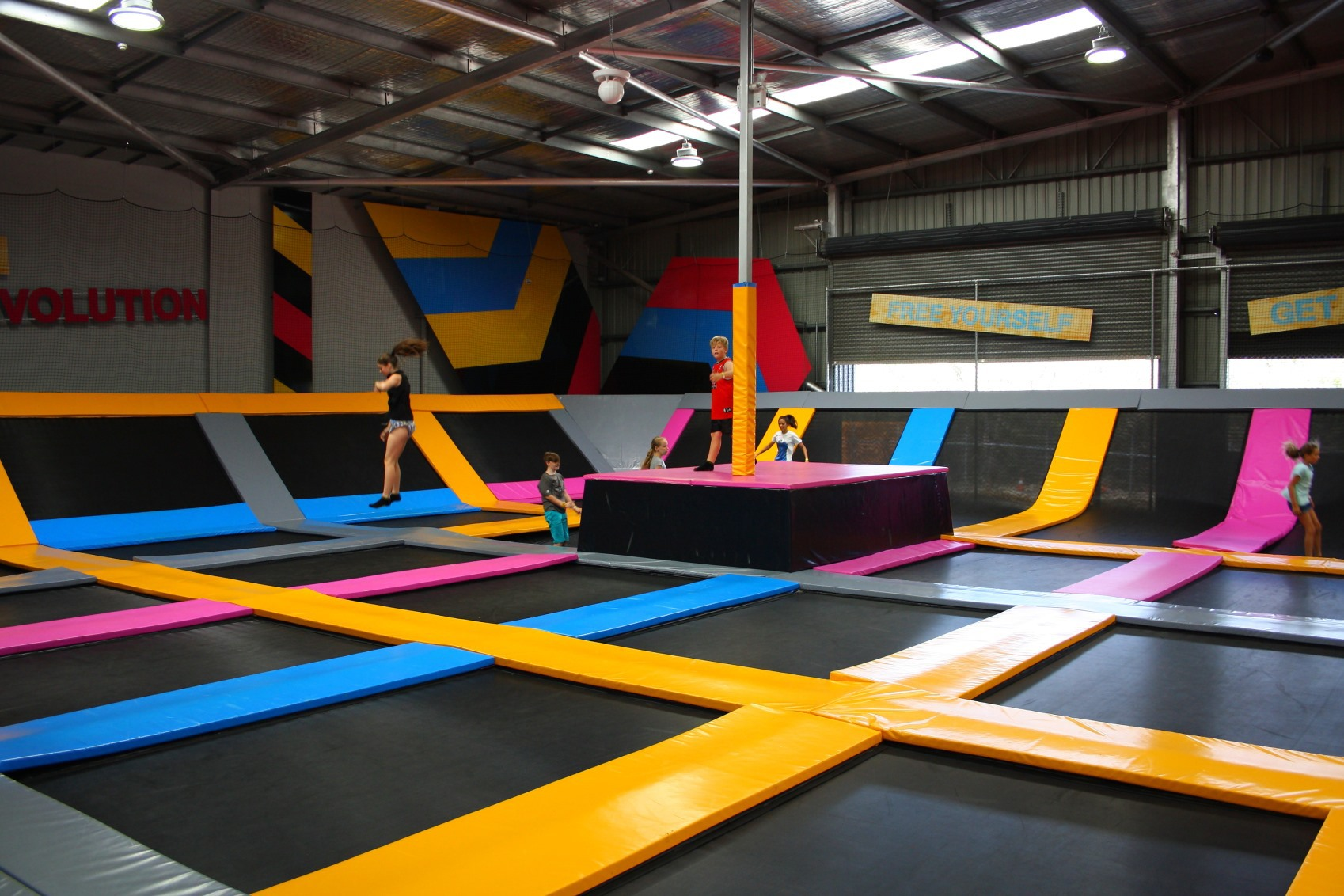 bounceinc: trampoline park & activities centre - perth