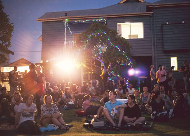 Brisbane backyard film festival