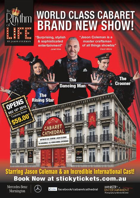 Cabaret Cathedral: The Rhythm of Life