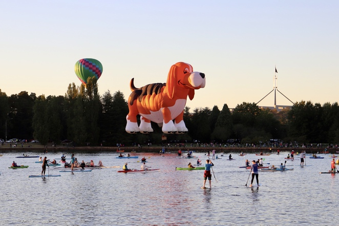 Canberra Balloon Spectacular, Canberra events and festivals, things to do Canberra, hot air balloons, balloon flights Canberra