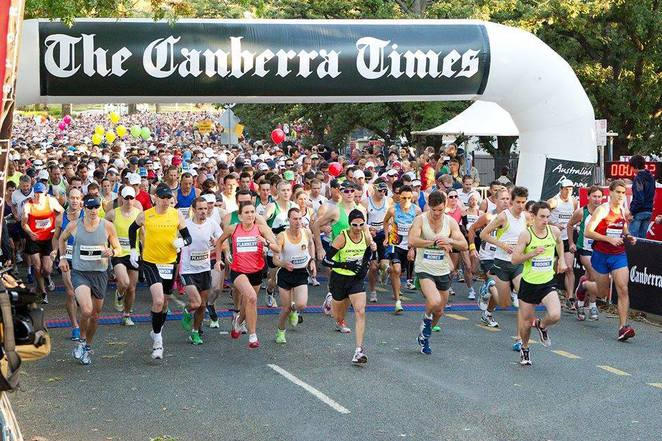 canberra times fun run, canberra, ACT, fathers day, 2016, charity run, ACT, lake burley griffin,