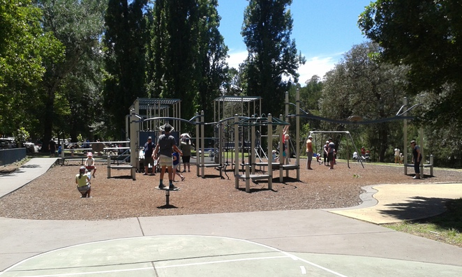 cotter reserve playground, the cotter, cotter reserve, playgrounds, ACT, canberra, weston creek, wright,