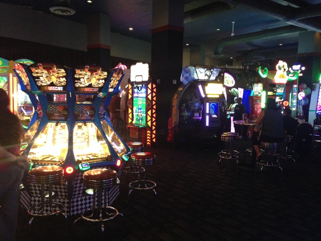Dave and Busters's Arcade