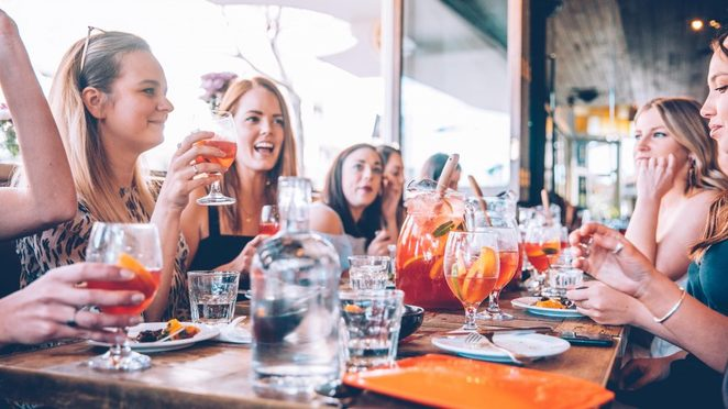 firefly dining, unlimited sangria banquet, girls day out, share menu, neutral bay restaurants