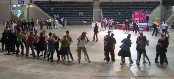 Free dance class at South Bank