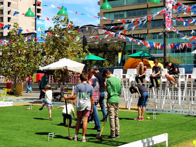 free things to do, fun things to do, fun for kids, in adelaide, things to see and do, family entertainment, whats on in adelaide, fringe festival, adelaide fringe, royal croquet club