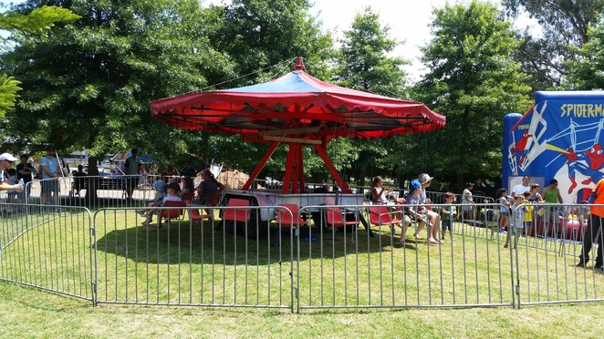 Fun rides at Pioneer Park in Berwick - All photos by Tricia Ziemer