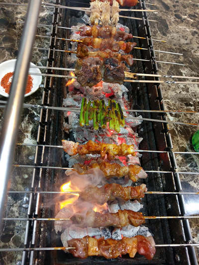 Gong Korean Charcoal Barbecue Hutt Street Adelaide BBQ Meat