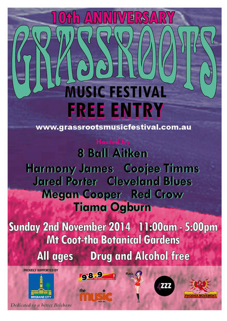 Grass roots poster