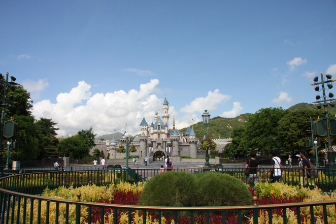 Hong Kong Disney with Kids