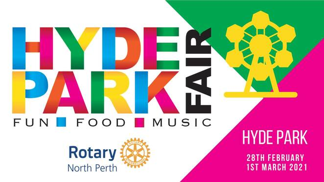 hyde park fair 2021, hyde park fair presented by live lighter, hyde park north perth, city of vincent, crowned pr, community event, fun things todo, family fun, rotary club of north perth, charity, fundraiser, rides for the family, entertainment hubs, wellness stage, 200 local businesses, market stalls, food from arount the world, entertainment, lotterywest, activities, shows, performances, performing arts, music, dance, competitions