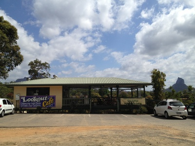 Keep an eye out for The Lookout Cafe on Glass House - Woodford Rd