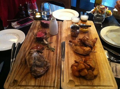 Lamb and Chicken Platters
