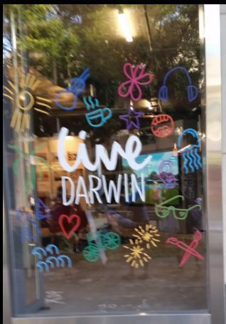 Live Darwin Hub, Darwin, Smith St Mall, Arts and installations, community event, free