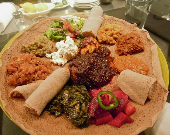 A platter from Made in Africa (photo courtesy of Made in Africa)