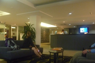 Mantra, Northbourne, Canberra, lobby, reception