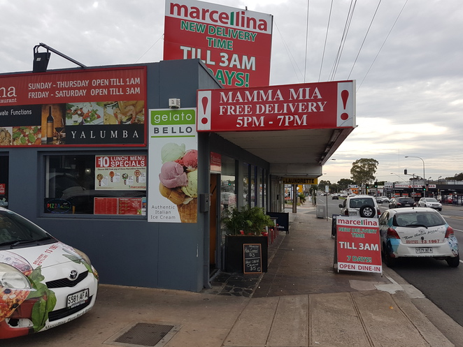 Marcellina, Enfield, lunch specials, pizza, pasta, salad