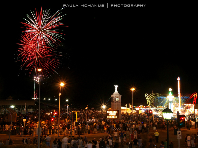 New Years Eve fireworks at Semaphore