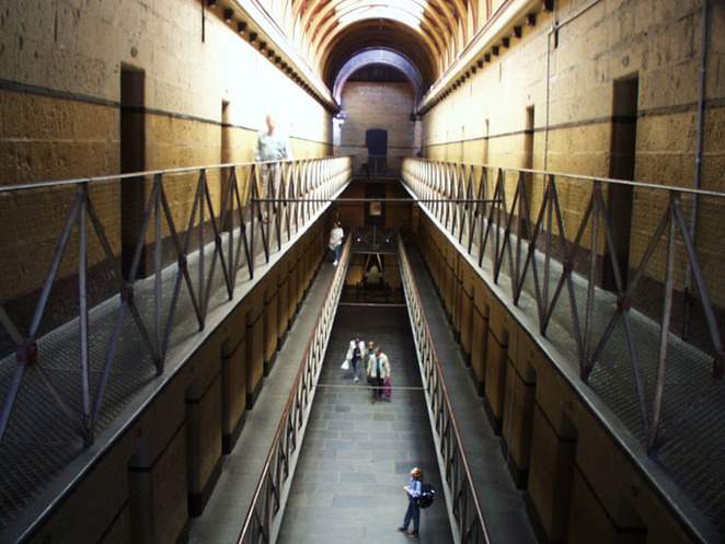 Old Melbourne Gaol Watch House, Melbourne Gaol, Whitelion Bailout 2015