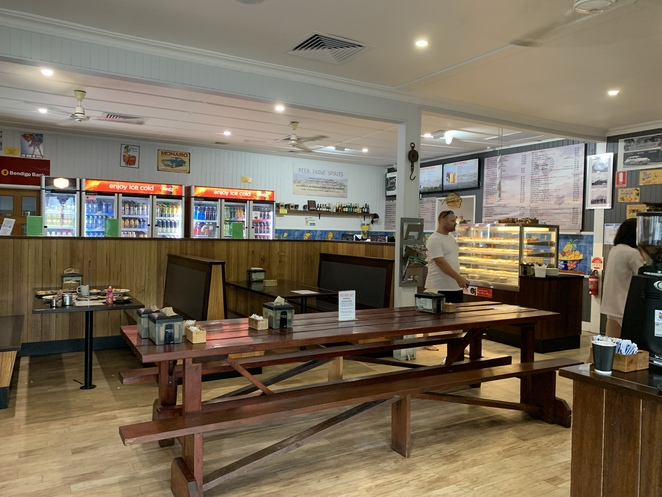 Outpost Cafe, Canungra, Gold Coast Hinterland, Food in Canungra, Lamington National Park