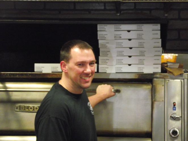 Owner Ken Jessup at Amiccis