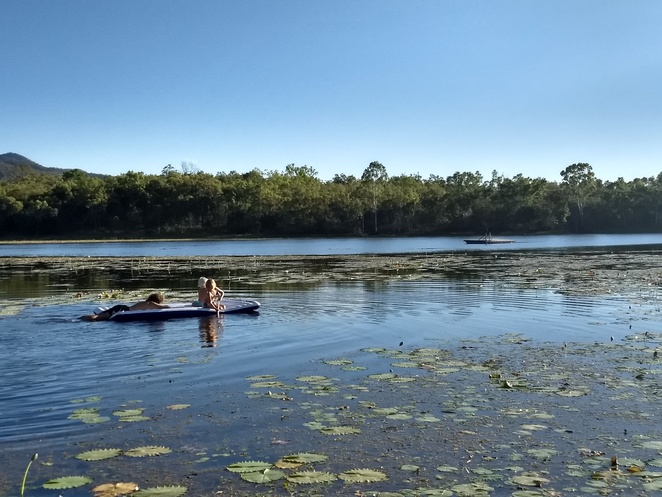 paddling the lake, night sky secrets tour, star gazing, things to do near Cairns