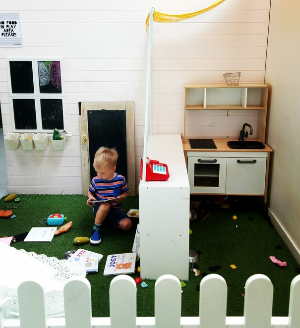 Play area, kid friendly cafe, mothers group, fairfield cafe, family ,
