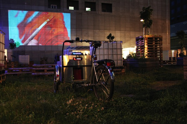 Projector Bike, Testing Grounds