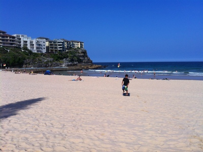 Queenscliff Beach, Manly Beach, beach, family fun, swimming, surfing