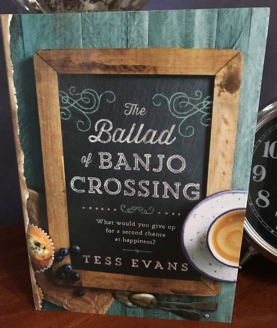 reading,books, book review, tess evans, the ballad of banjo crossing