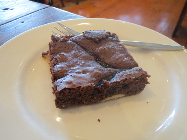Red Mill Bakehouse, Choc Raspberry Brownie, Adelaide