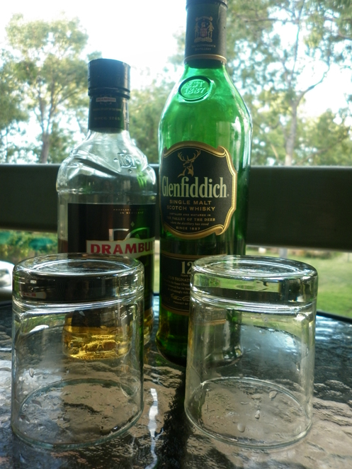 Rusty Nail - Drambuie and Glenfiddich