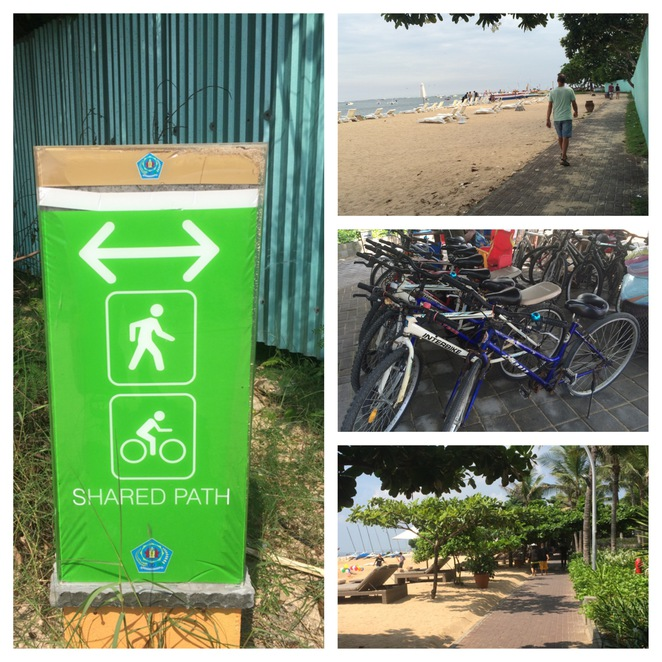 Sanur Beach Walk