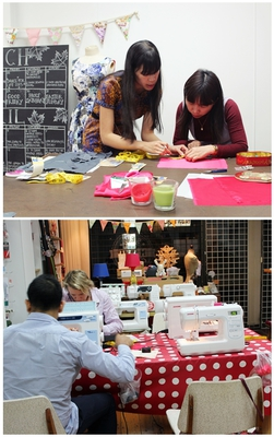 sew make create, sewing course, beginner