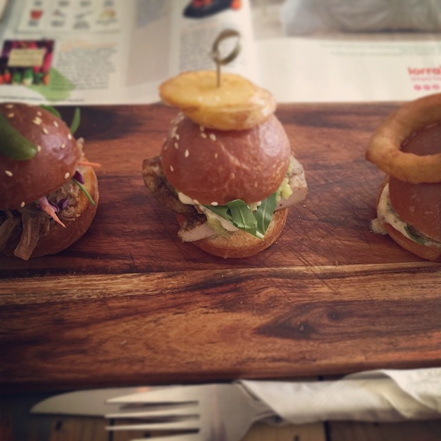 sliders, burgers, Big Tree House, cafe, lunch