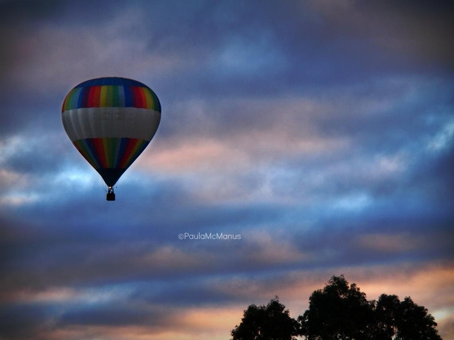 Sunrise Balloon Flight (©paula mcmanus)