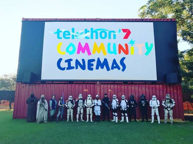Telethon Community Cinemas, Outdoor cinemas 2018, Burswood movies, Bassendean movies, Murdoch movies, Perth charity events, movies Perth 2018