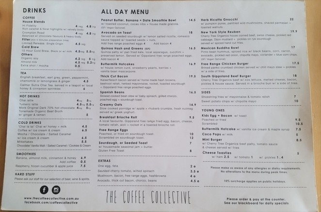 The Coffee Collective cafe