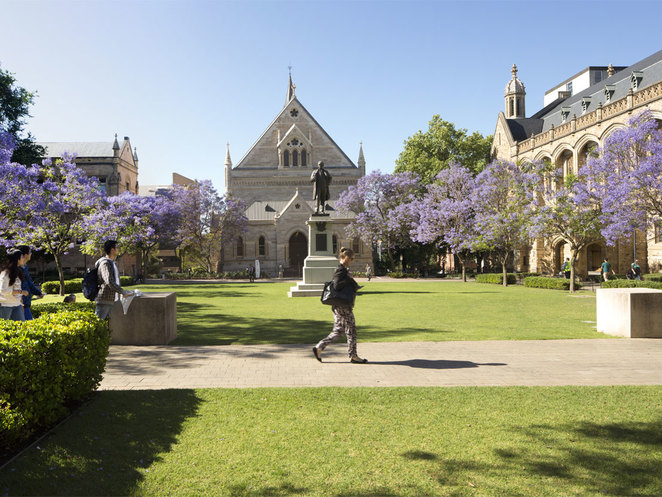 The University of Adelaide's North Terrace campus