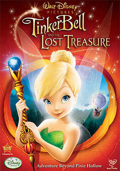 Tinkerbell and the lost treasure, Tinkerbell, Tinkerbell movies, kids movies, movies for kids