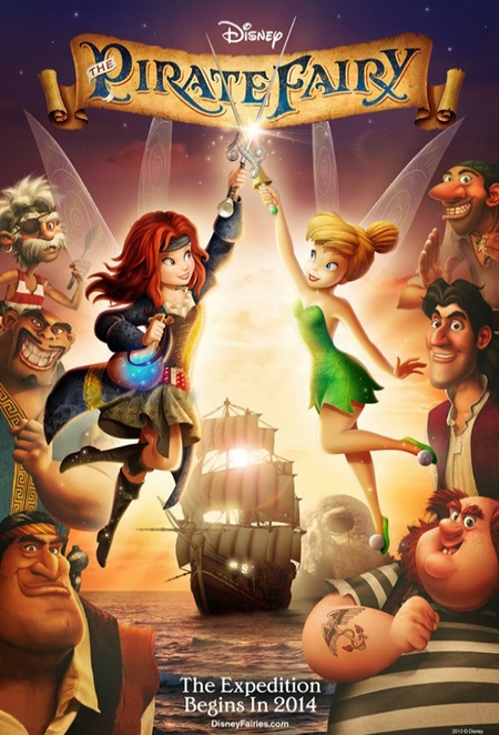tinker bell and the pirate fairy review