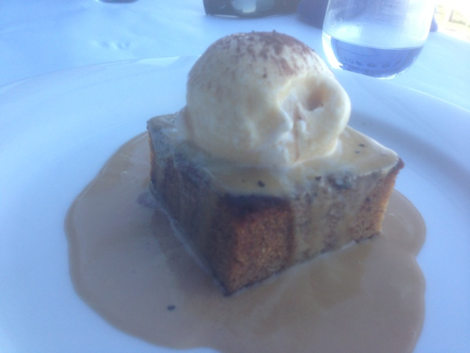 Toffee pudding