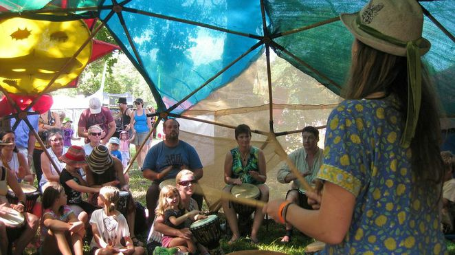 Wallaby Creek Festival 2013, Rossville, Cooktown, Cairns, Daintree, music, drum workshops
